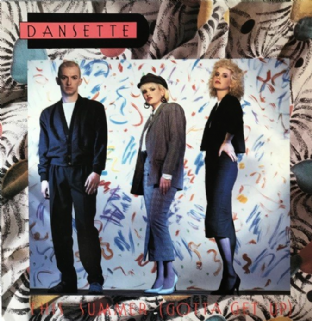 "Dansette ‎- This Summer (Gotta Get Up) (12"") (VG-/VG)"